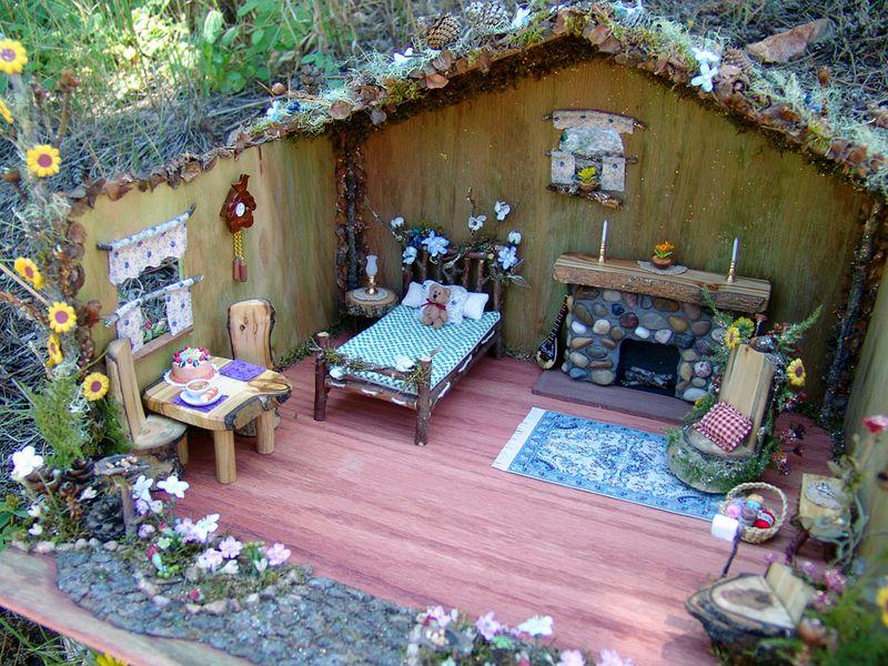 Fairy Houses Fairy Furnishings